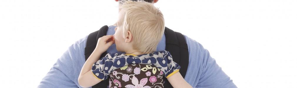 Babydragen en draagdoek
